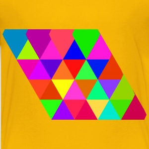 triangular tiling concept - Kids' Premium T-Shirt