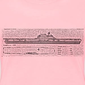 Enterprise Aircraft Carrier - Women's Premium T-Shirt