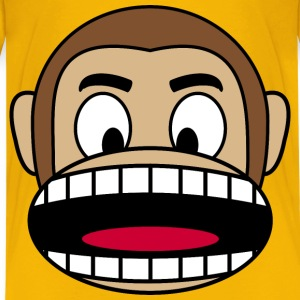 Monkey  Angry - Kids' Premium T-Shirt