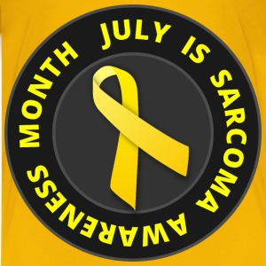 July is Sarcoma Awareness Month - Kids' Premium T-Shirt