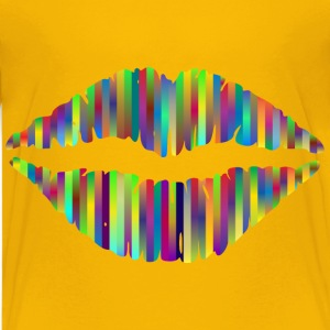 Technicolor Lips 3 - Kids' Premium T-Shirt