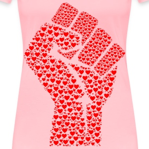 Fist Of Love - Women's Premium T-Shirt