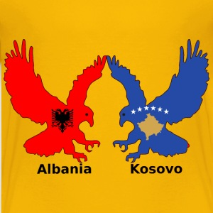 Albania and Kosovo, two eagles - Kids' Premium T-Shirt