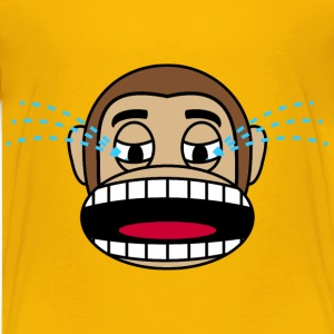 Monkey  Loudly Crying - Kids' Premium T-Shirt