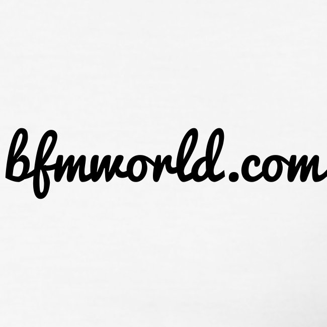 bfmworld tee white