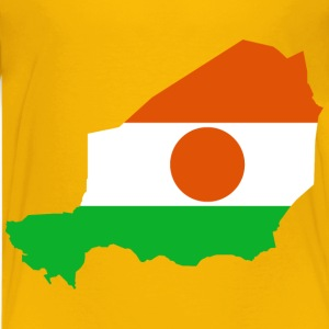 Niger Flag Map - Kids' Premium T-Shirt