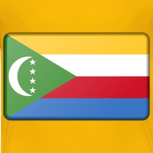 Flag of Comoros (bevelled) - Kids' Premium T-Shirt