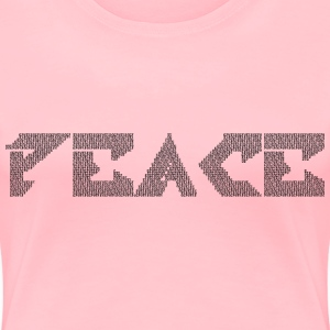 Justice In Peace - Women's Premium T-Shirt