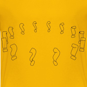 Question mark circle - Kids' Premium T-Shirt