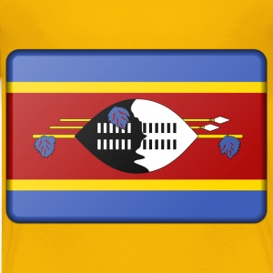 Swaziland flag (bevelled) - Kids' Premium T-Shirt