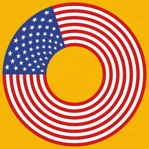 Stars And Stripes Circle 2 - Kids' Premium T-Shirt