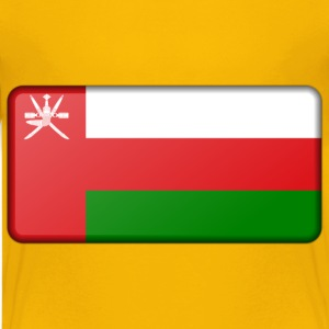 Oman flag (bevelled) - Kids' Premium T-Shirt
