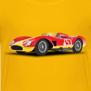 red racing car (no logo) - Kids' Premium T-Shirt