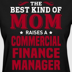 Commercial Finance Manager MOM - Women's T-Shirt