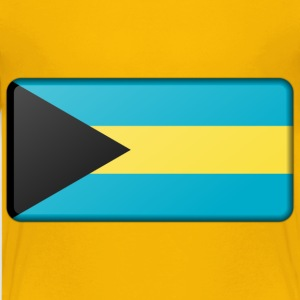 Bahamas flag (bevelled) - Kids' Premium T-Shirt