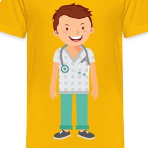 Doctor Alone - Kids' Premium T-Shirt