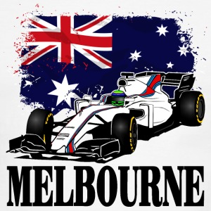 Formula One - Formula 1 - Australia Flag T-Shirts - Men's Ringer T-Shirt