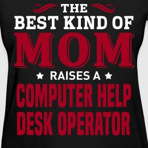 Computer Help Desk Operator MOM - Women's T-Shirt