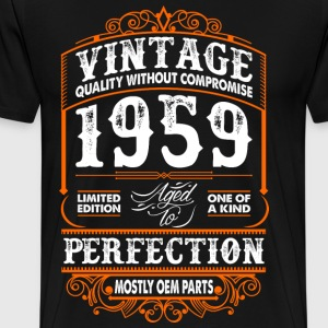 Vintage 1959 Perfection Mostly OEM Parts T-Shirts - Men's Premium T-Shirt