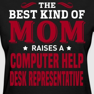 Computer Help Desk Representative MOM - Women's T-Shirt