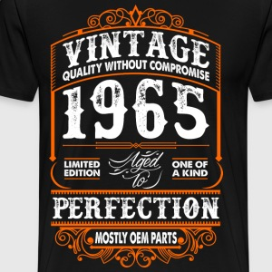 Vintage 1965 Perfection Mostly OEM Parts T-Shirts - Men's Premium T-Shirt