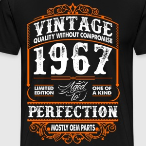 Vintage 1967 Perfection Mostly OEM Parts T-Shirts - Men's Premium T-Shirt