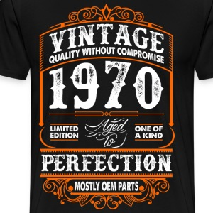 Vintage 1970 Perfection Mostly OEM Parts T-Shirts - Men's Premium T-Shirt