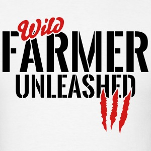 wild farmer unleashed T-Shirts - Men's T-Shirt