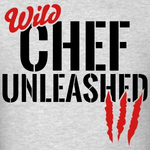 wild chef unleashed T-Shirts - Men's T-Shirt