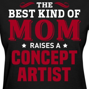 Concept Artist MOM - Women's T-Shirt