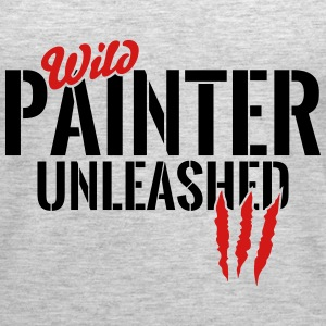 wild painter unleashed Tanks - Women's Premium Tank Top