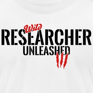 wild researcher unleashed T-Shirts - Men's T-Shirt by American Apparel