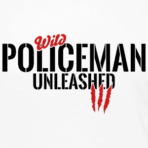 wild policeman unleashed Long Sleeve Shirts - Women's Premium Long Sleeve T-Shirt