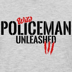 wild policeman unleashed Long Sleeve Shirts - Men's Premium Long Sleeve T-Shirt