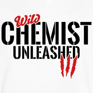 wild chemist unleashed T-Shirts - Men's V-Neck T-Shirt by Canvas