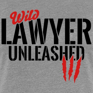wild lawyer unleashed T-Shirts - Women's Premium T-Shirt