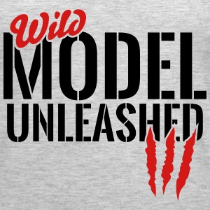 wild model unleashed Tanks - Women's Premium Tank Top