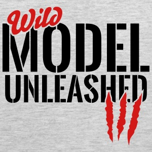 wild model unleashed Sportswear - Men's Premium Tank