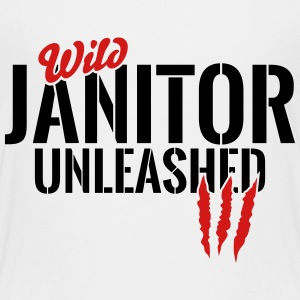 wild janitor unleashed Baby & Toddler Shirts - Toddler Premium T-Shirt