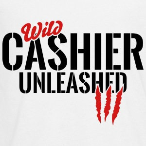 wild cashier unleashed Kids' Shirts - Kids' Premium Long Sleeve T-Shirt