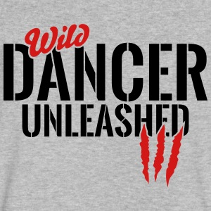 wild dancer unleashed T-Shirts - Men's V-Neck T-Shirt by Canvas