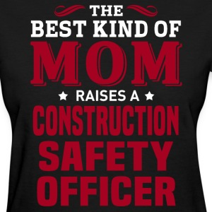 Construction Safety Officer MOM - Women's T-Shirt