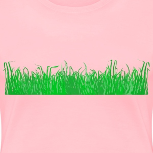 Grass for a lawn - Women's Premium T-Shirt