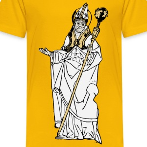 Simple Old Pope - Kids' Premium T-Shirt