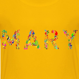 Mary Typography - Kids' Premium T-Shirt