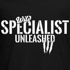 Wild specialist unleashed Kids' Shirts - Kids' Premium Long Sleeve T-Shirt