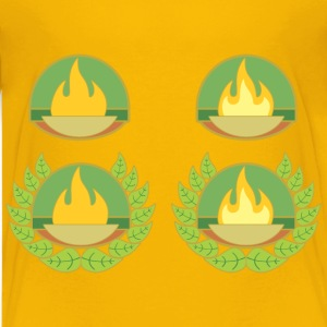 Braziers Of Fire With Wreaths - Kids' Premium T-Shirt