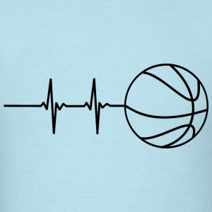 Basketball Pulse T-Shirts - Men's T-Shirt