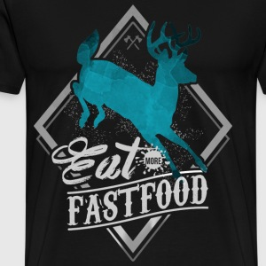 Eat More Fast Food T-Shirts - Men's Premium T-Shirt