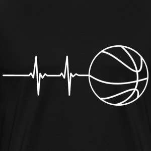 Basketball Pulse T-Shirts - Men's Premium T-Shirt